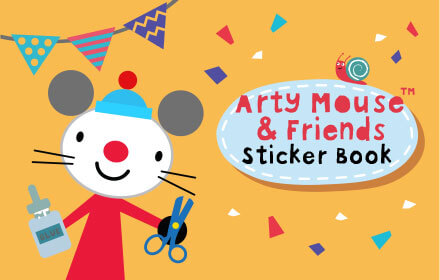 Arty Mouse: Sticker Book
