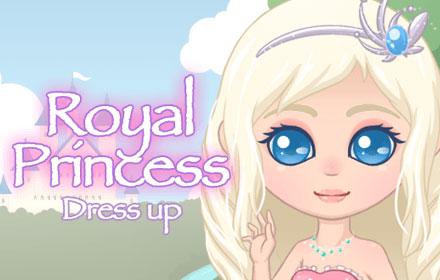 Royal Princess Dress Up