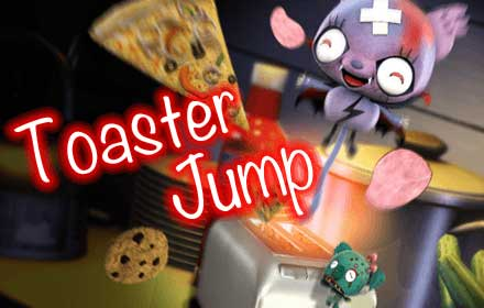 Count Pero Toaster Jump