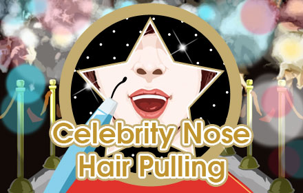 Celebrity Nose Hair Pulling